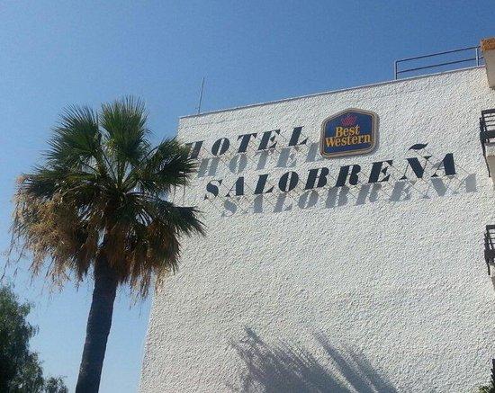 BEST WESTERN Hotel Salobrena : Entrada