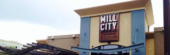 Boston's Restaurant & Sports Bar: Mill City Restaurant and Sports Bar Facade