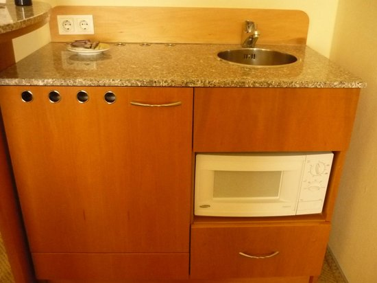 Starlight Suiten Hotel Salzgries: Kitchenette