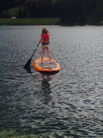 Lone Mountain Ranch: Paddle Board in kids program