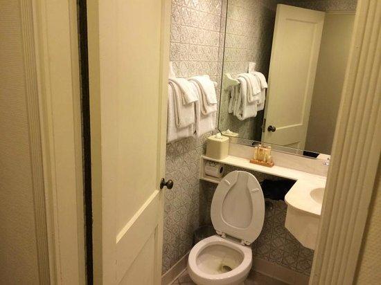 Riverside Hotel: Vista parcial do banheiro