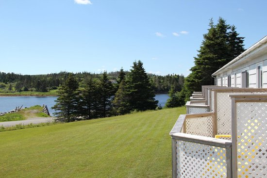 Port Dufferin, Kanada: View from our room at the Marquis of Dufferin Inn