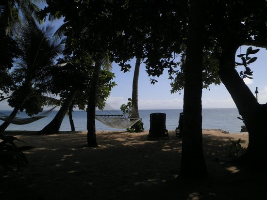 Toberua Island Resort: Our front yard