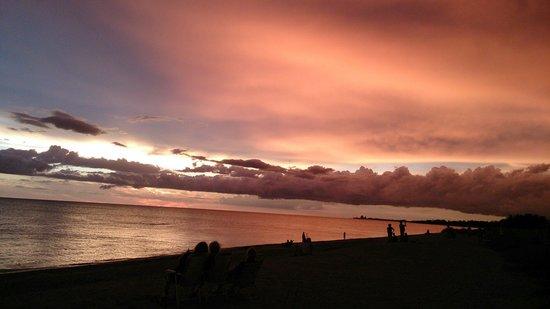 Turtle Beach: Another beautiful sunset
