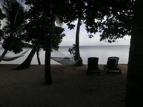 Toberua Island Resort : The view from our hut