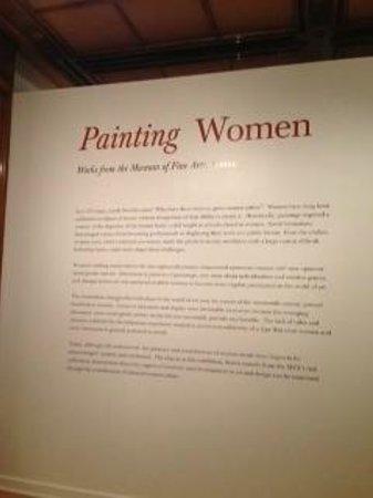 Bellagio Gallery of Fine Art : Painting Women Exhibit.