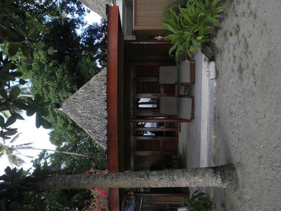 Toberua Island Resort: Our hut - #1