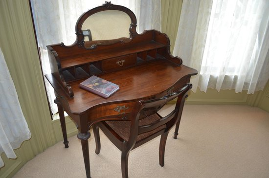 North Berwick, ME: This was the desk in our room.