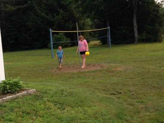 North Colony Motel and Cottages : Tether ball & volley ball