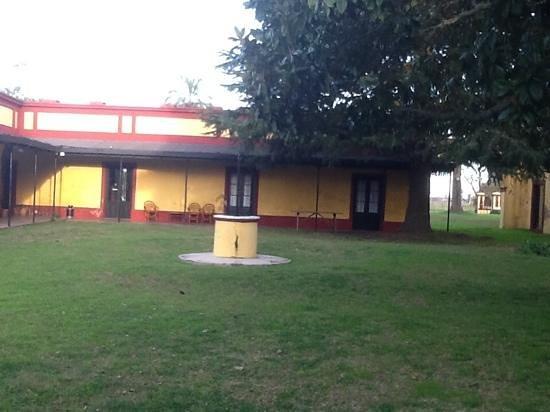 Estancia La Alameda: vista del patio central
