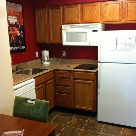 Residence Inn Buffalo Galleria Mall : kitchen area