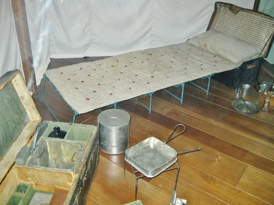 Henry-Ford-Museum: George Washington's camp bed