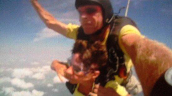 Skydive South Padre Island: free falling