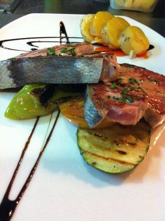 Restaurante Fuente de Zeta: ATÚN ROJO