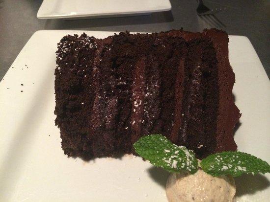 Destihl Restaurant & Brew Works: Chocolate Cake