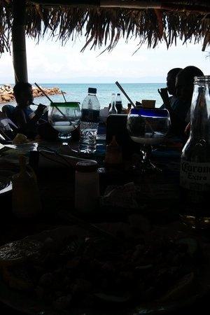 Surf Mex: beachside tableside