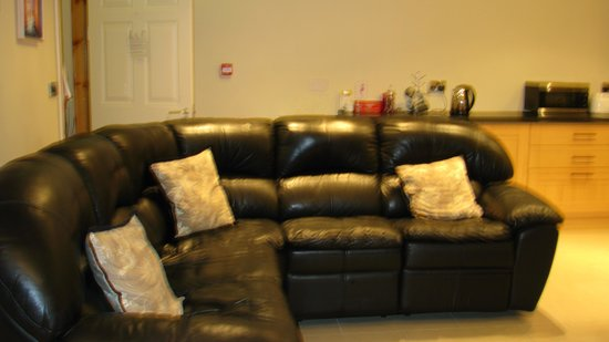 Fernroyd House B&B : Living room in annex