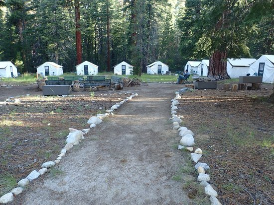 Yosemite High Sierra Camps: Tent cabins at Merced High Sierra Camps