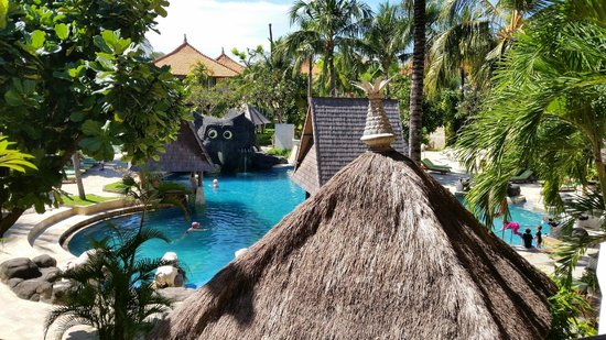 The Tanjung Benoa Beach Resort Bali: Nice view from our room