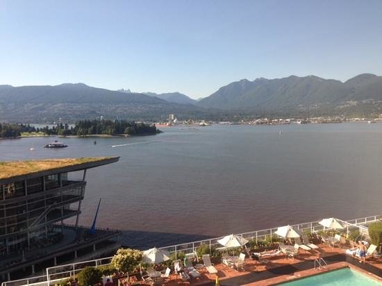 Pan Pacific Vancouver: Harbor view
