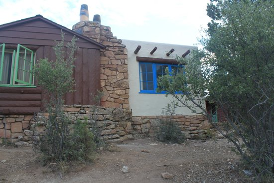 Bright Angel Lodge: Our partial view Cabin