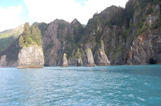 Alaska Saltwater Lodge Small Group Whale Watching, Wildlife & Glacier Tour : Beautiful sites