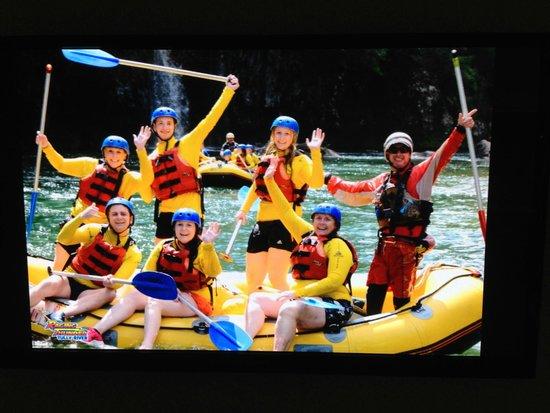 RnR White Water Rafting: Great way to celebrate Em's birthday cheers guys