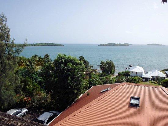 Hôtel Frégate Bleue : view  from our deck