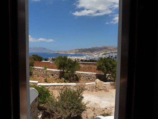 Charissi Hotel: vista do meu quarto