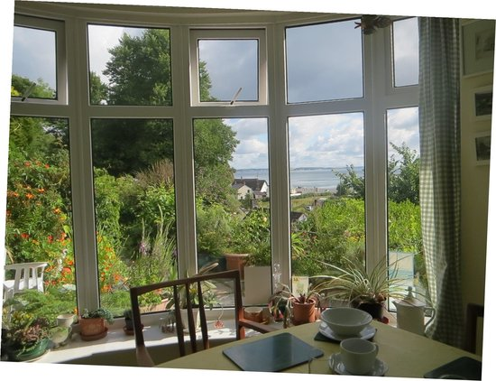 Gallen-Treath Guest House: View from the breakfst room.