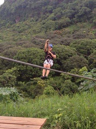Mexico Verde Resort de Aventura: tirolesa