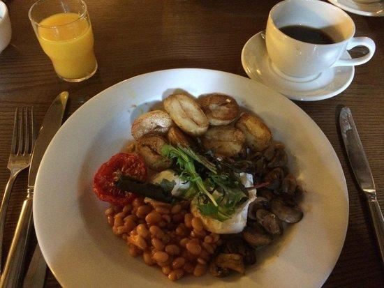 Schoolhouse Hotel: Vegetarian Hot Breakfast - excellent!!!