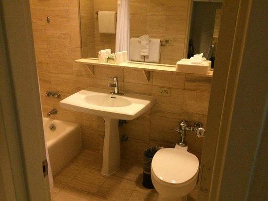Miami International Airport Hotel: Vista parcial banheiro