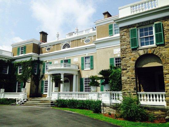 Franklin Delano Roosevelt Home : The house