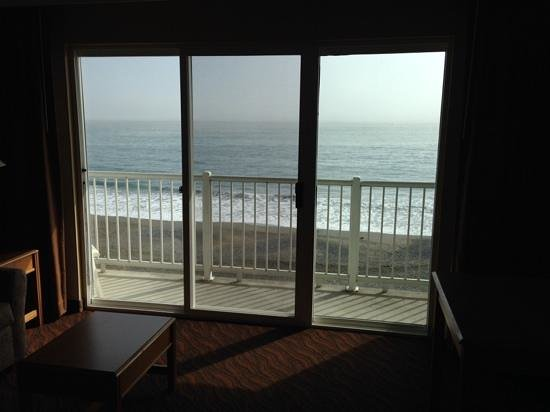 BEST WESTERN Beachfront Inn: view from our room