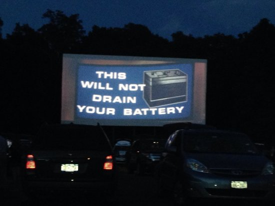 Hyde Park Drive-In Theatre : Listen from your car