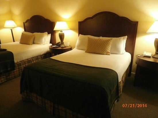Stanford Terrace Inn: comfy beds