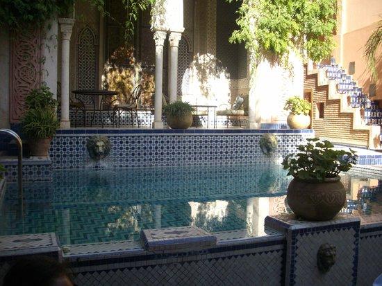 Palais Sebban: Courtyard Pool