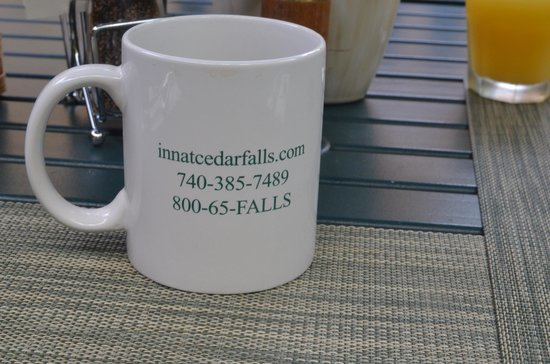The Inn & Spa at Cedar Falls: Coffee mug