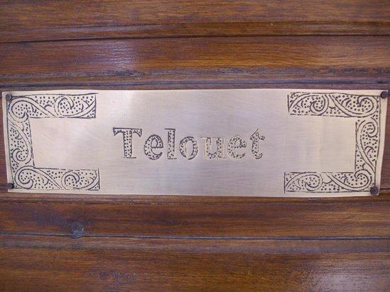Palais Sebban: Nameplate on Door