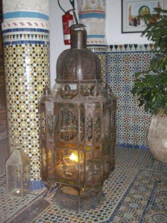 Palais Sebban : Sitting area lantern
