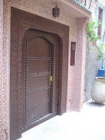 Entrance to Palais Sebban