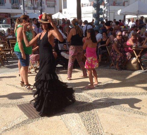 Marriott's Marbella Beach Resort : Flamenco Dancer at Feria
