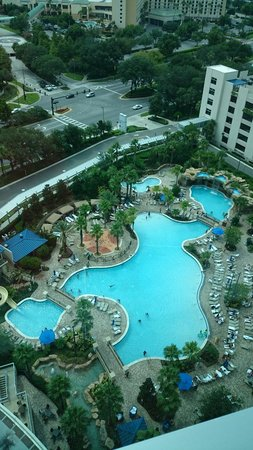 Hyatt Regency Orlando: View from our floor