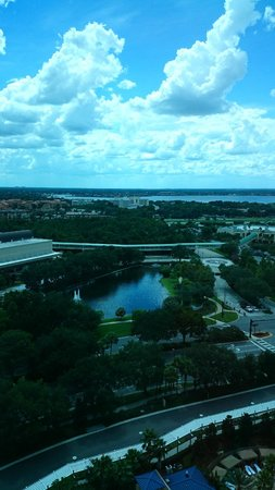 Hyatt Regency Orlando : View from our floor