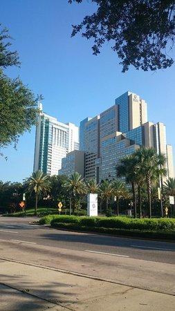 Hyatt Regency Orlando: View from the outside