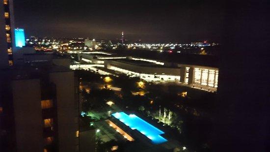 Hyatt Regency Orlando: View from our room