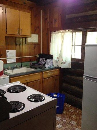 Cacapon Resort State Park: Standard Cabin #9 Kitchen