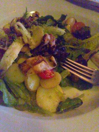 Brasserie Gigi: Grilled Squid Salad