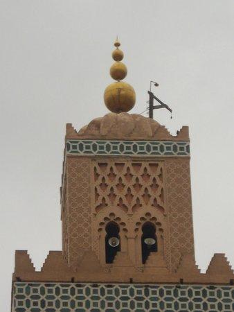 Mosquée et minaret de Koutoubia : Koutoubia Mosque - Copper Globes